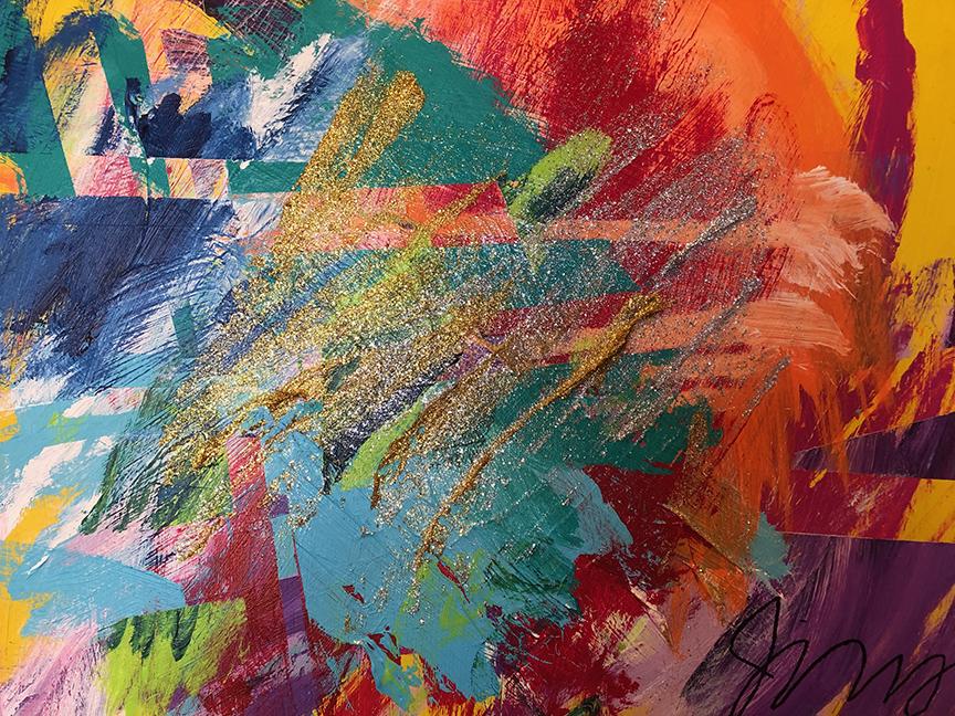 Jeremy Sicile Kira 2018 New Year painting