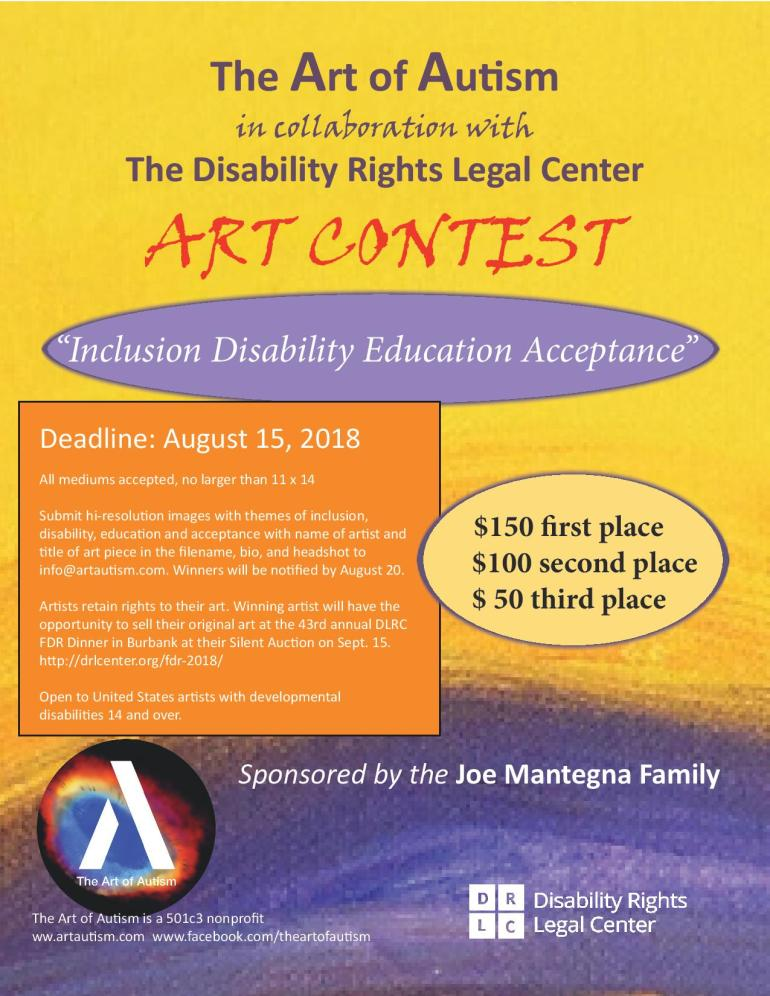 Art of Autism art contest