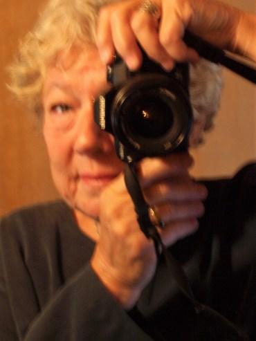 Pamela Urfer self-portrait autism