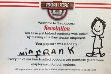 Mia Frank certificate