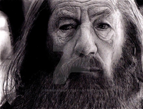 Chris Baker Gandalf the Grey Lord of the Rings