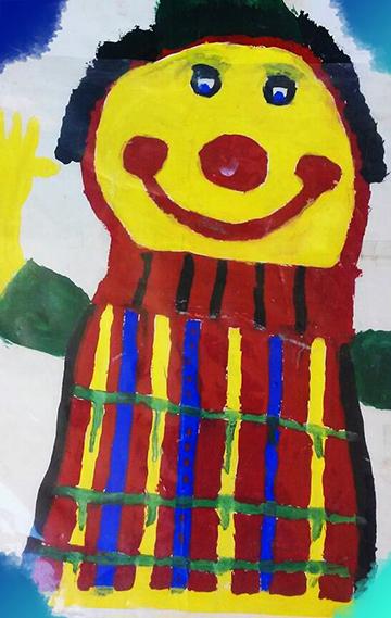 """Christian Espicha """"Clown"""""""