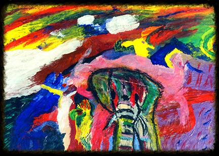 "Christian Espicha ""Psychedlic Elephant"""