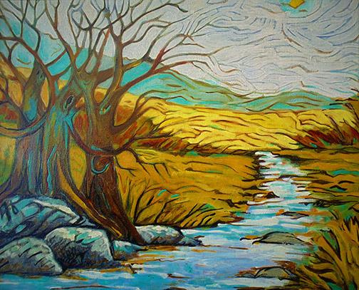 """Kimberly Gerry-Tucker """"River"""""""
