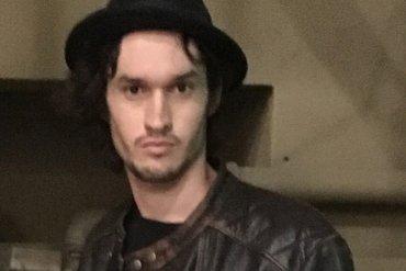 Austin Jones with hat