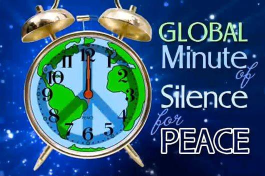 Global Minute of Silence for Peace
