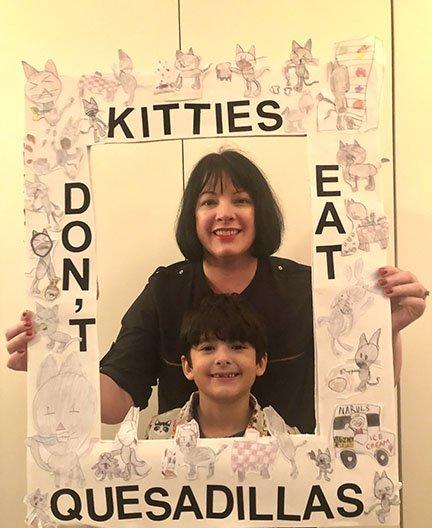 Kitties Don't Eat Quesadillas Logan and Patty