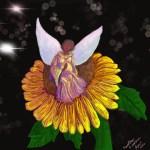 """CarolAnn Edscorn """"Queen of the Sunflowers"""""""