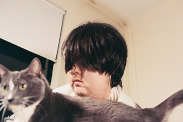 Mel Baggs with her cat