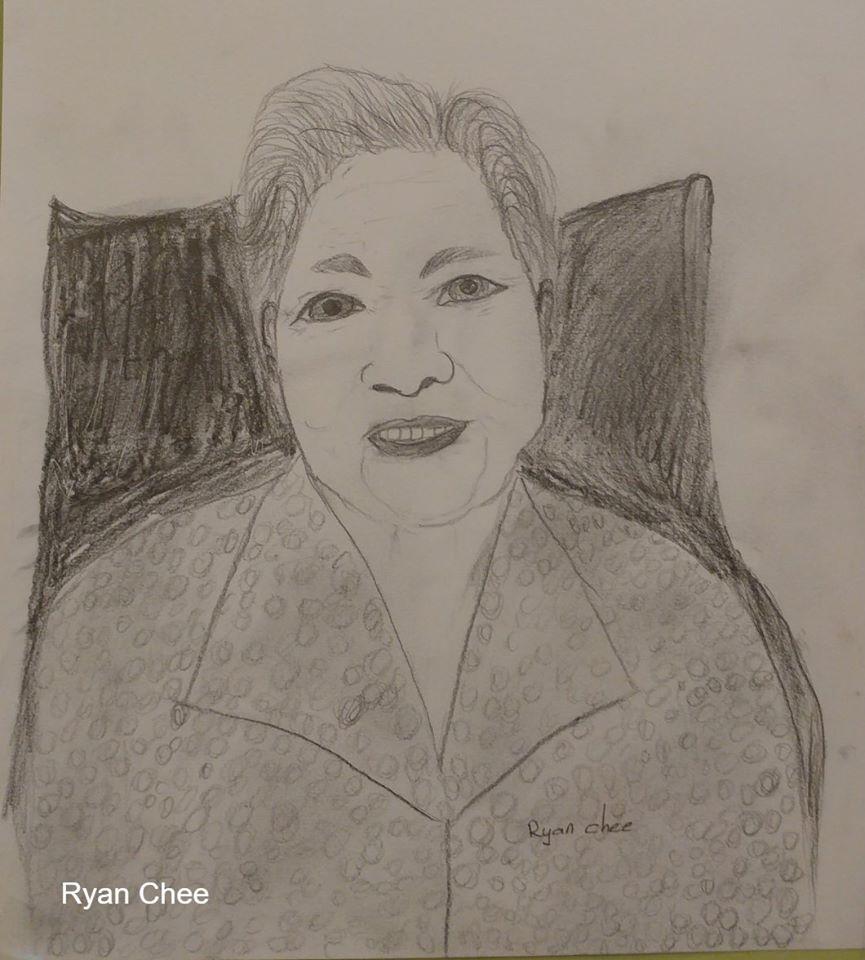 Ryan Chee Depiction of Grandma