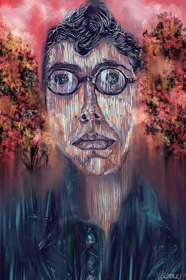 "Angela Weddle ""Self-Portrait"""