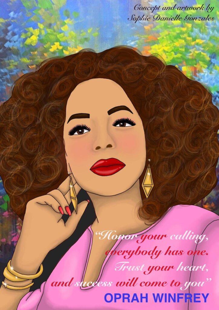 """Sophie Gonzalez """"Oprah"""""""