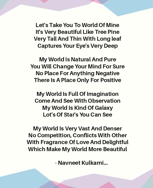 Poem By Navneet Kulkami