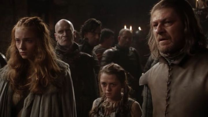 Kingsroad-Ned-Arya-and-Sansa