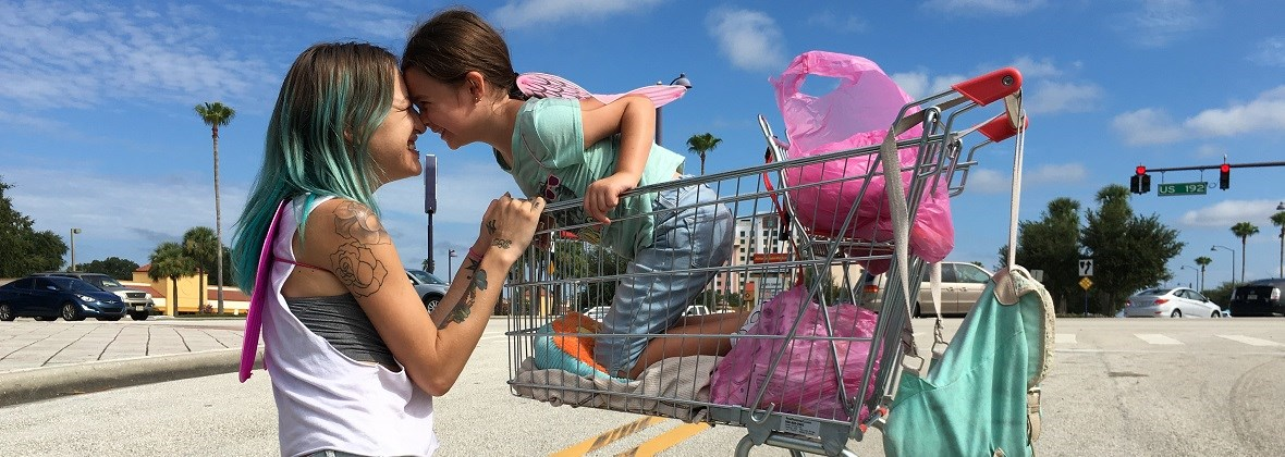 Resultat d'imatges de THE FLORIDA PROJECT