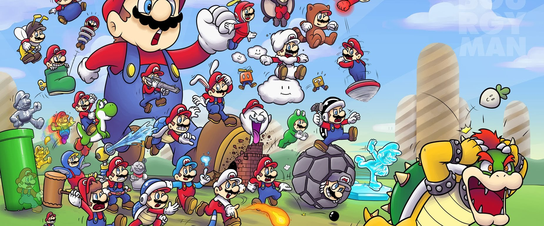 All Of The Super Mario Powerups Ranked The Avocado