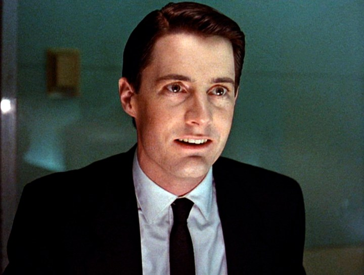 Kyle MacLachlan As Special Agent Cooper