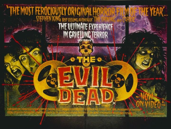 Campbell - Evil Dead Poster