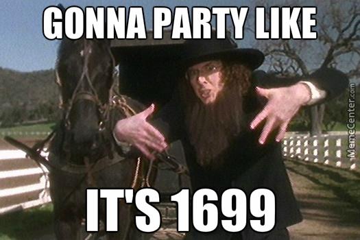 gonna-party-amish-meme