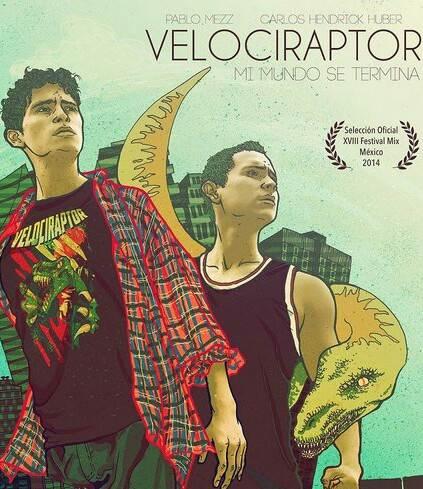 Velociraptor Poster crop
