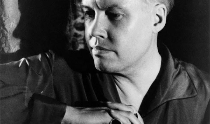 Self-portrait photographed by Carl van Vechten