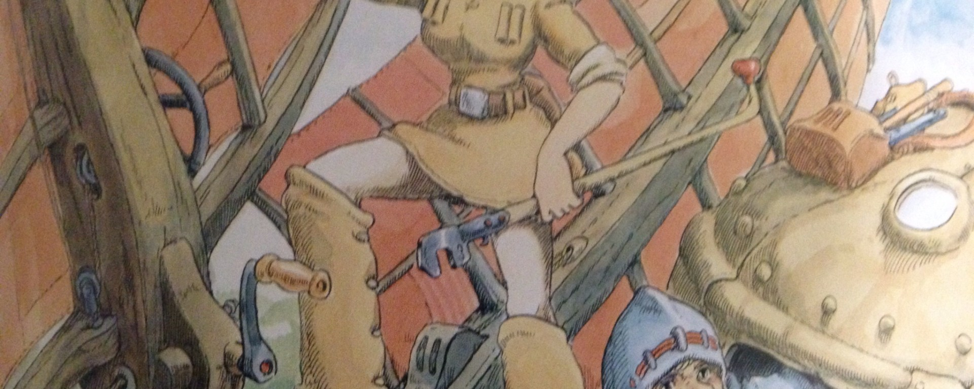 Nausicaa of the Valley of the Wind artwork
