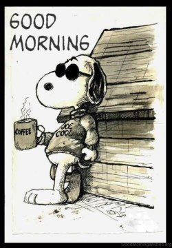 Snoopy-With-Coffee