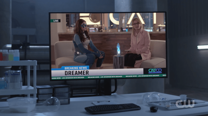 Supergirl - American Dreamer - Interview
