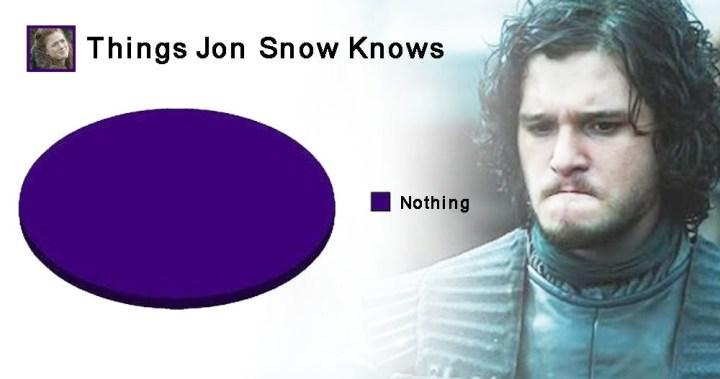 jon knows