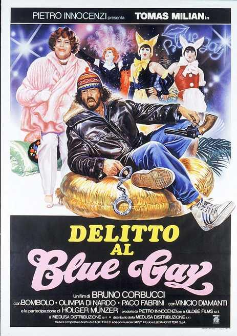 Delitto at Blue Gay