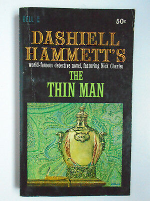 The-Thin-Man-Dashiell-Hammett-Dell-Paperback-1966