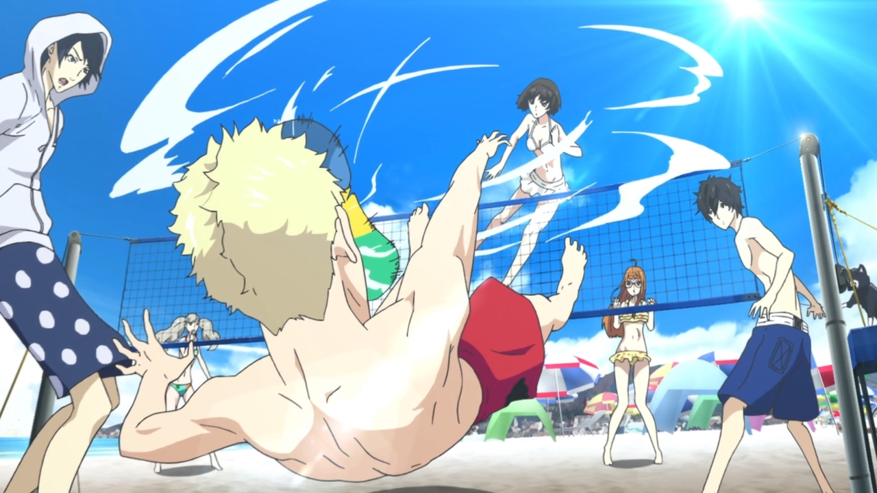 Persona 5: The Animation - beach vacation