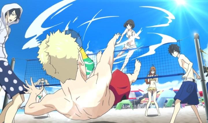 Persona 5: The Animation - beach vacation
