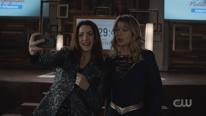 Supergirl - Season 5, Episode 14 - The Bodyguard - Andrea Kara Selfie