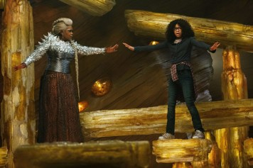 "Oprah Winfrey and Storm Reid in a scene from the ""A Wrinkle in Time."""