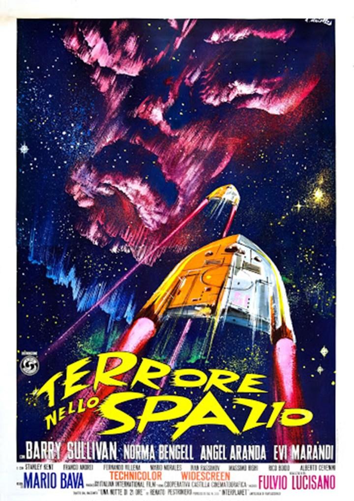terrore nello spazio cinema poster
