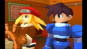 Mega Man Legends 2 - All Cutscenes 11-3 screenshot