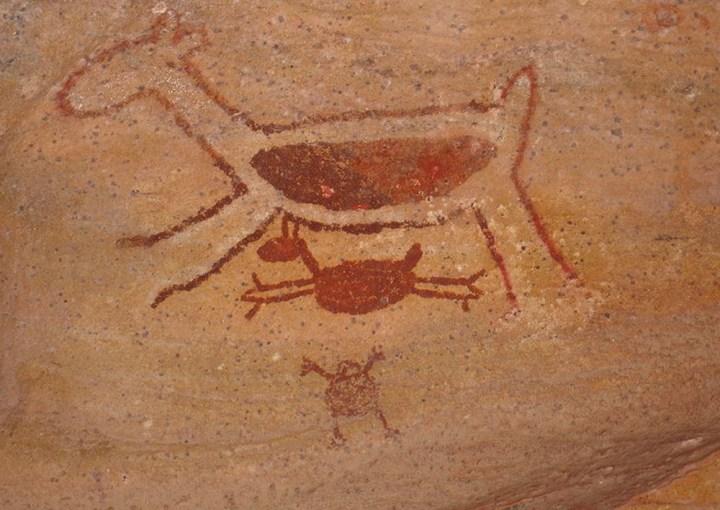 The Serra da Capivara Cave Paintings