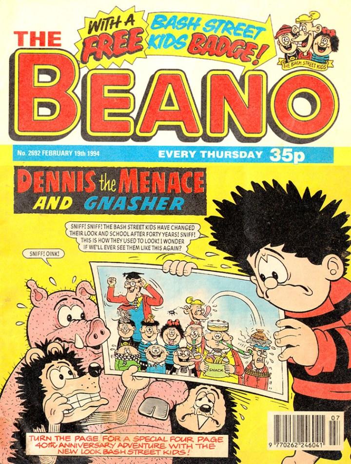 The Beano 19th February 1994