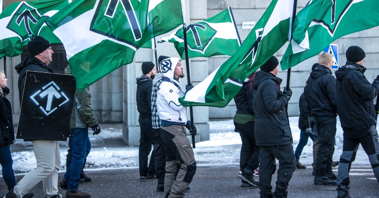 Notes on far-right Sweden in politics and on the streets