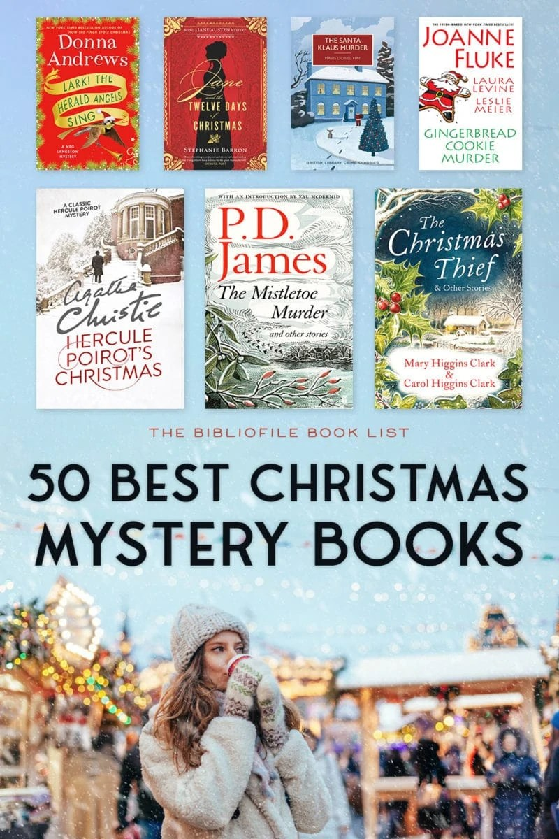 christmas mysteries books holiday xmas novels stories crime