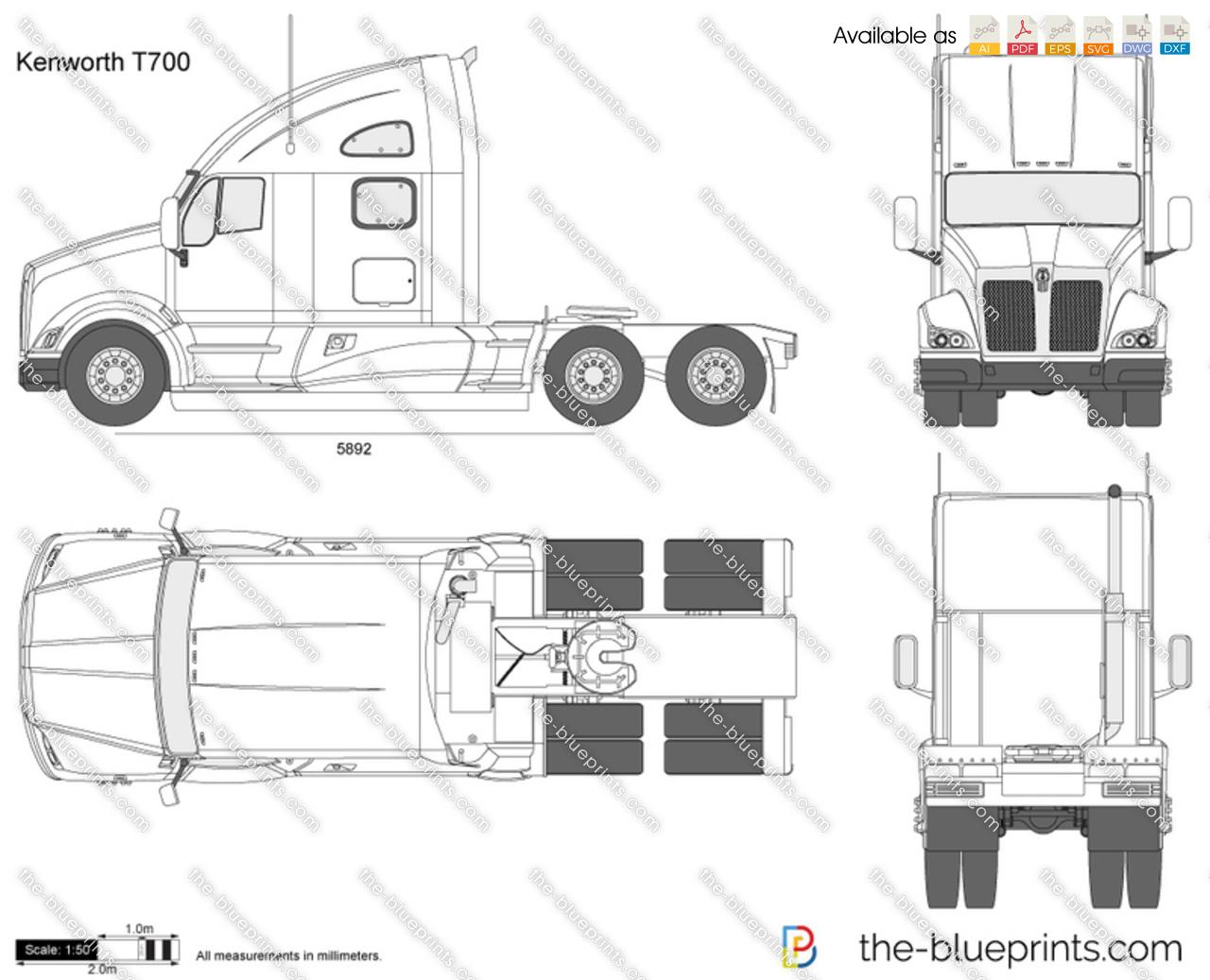 Kenworth T800 Bumper
