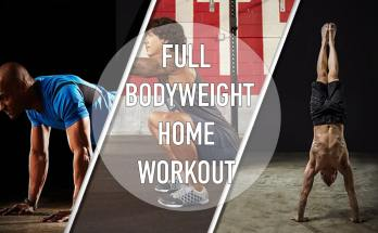 full bodyweight home workout