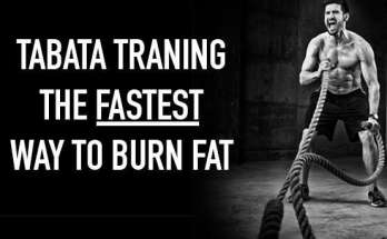 tabata training fastest way to burn fat