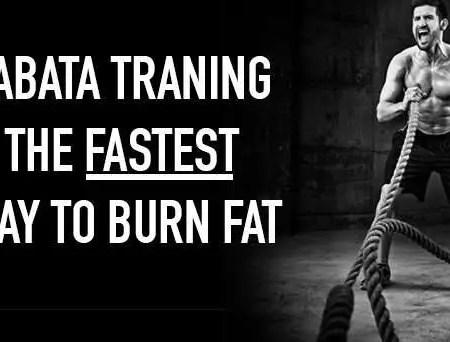 tabata training fastest way to burn fat
