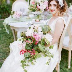 Stil svadby romantichnyi  buket nevesty (60)