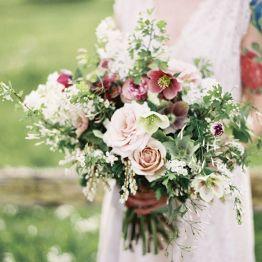 Stil svadby romantichnyi  buket nevesty (82)