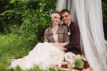 Русские традиции: свадьба Андрея и Кати