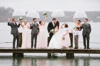 Как подготовиться к изменениям погоды в день свадьбы?