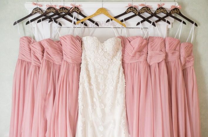 Платья подружек невесты: короткие или длинные?